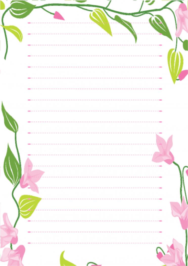 信纸模板免费下载 - wps在线模板官方网站图片