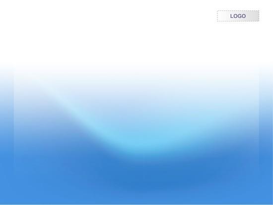 静谧海洋ppt模板模板免费下载