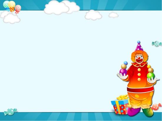 生日贺卡ppt模板模板免费下载