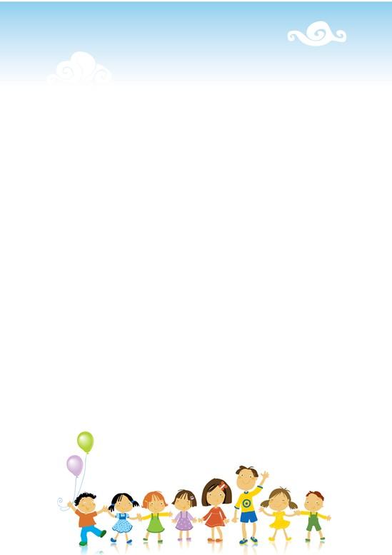 枫叶简笔画边框