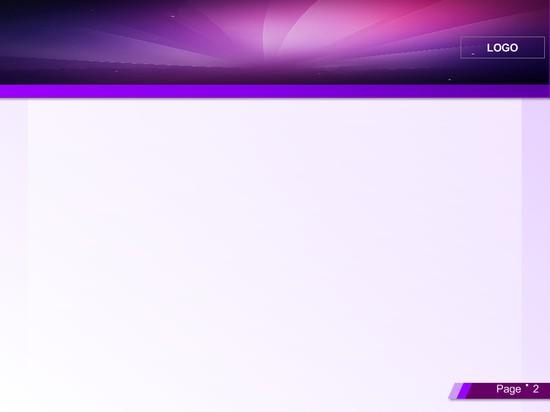 紫色简约ppt模板模板免费下载