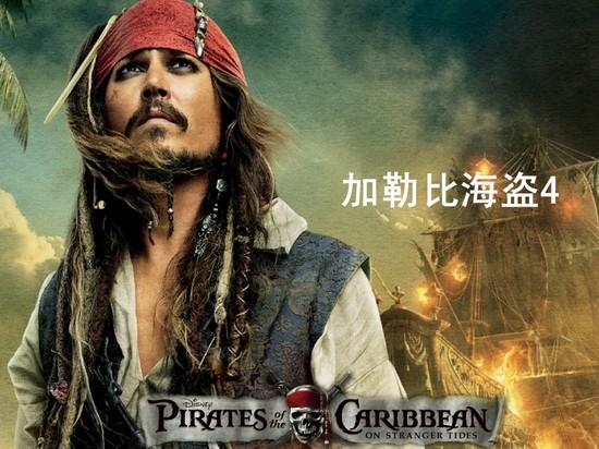 加勒比海盗4杰克船长ppt模板模板免费下载