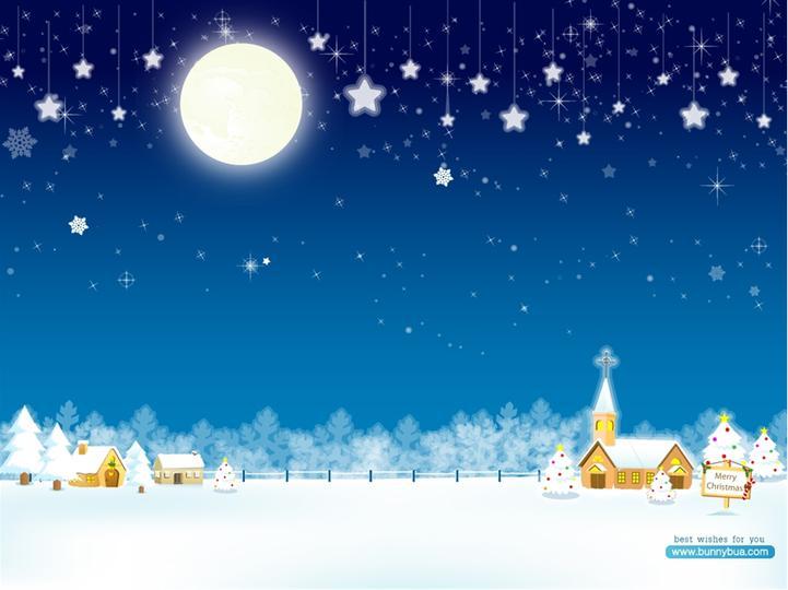 圣诞节ppt模板模板免费下载