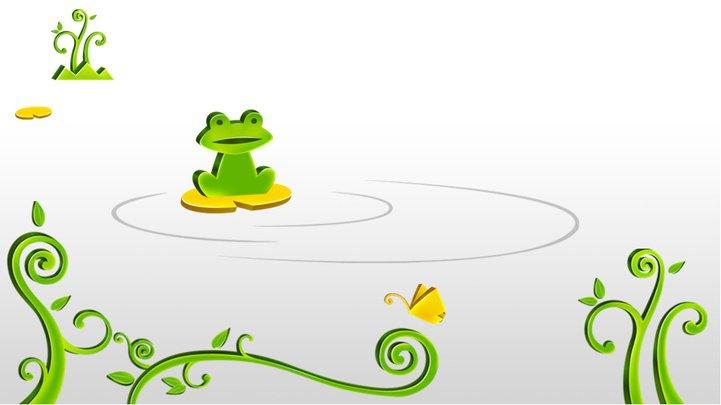 绿色宽屏教育ppt模板 (动)模板免费下载
