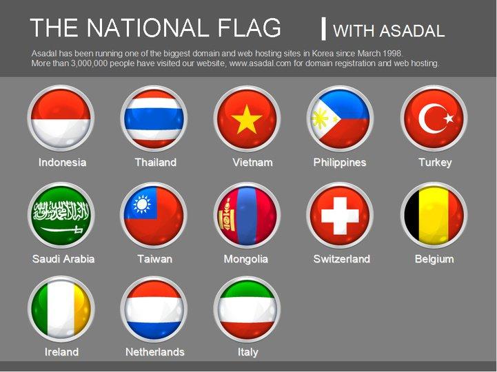 国旗图标模板_745008