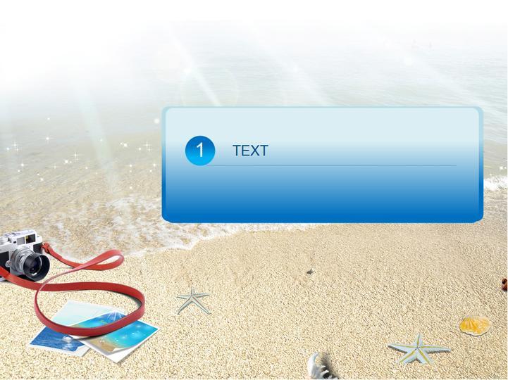 海洋沙滩休闲类模板图片
