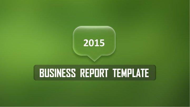 动态绿色小清新商务总结类ppt模板模板免费下载