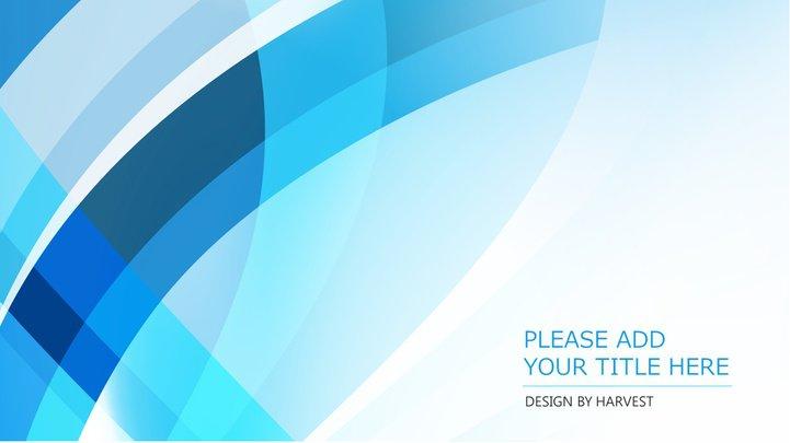 蓝白商务简约工作总结汇报ppt模板模板免费下载