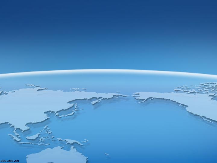 蓝色世界_课件ppt模板模板免费下载