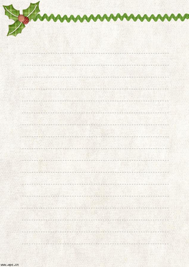 布纹信纸模板免费下载