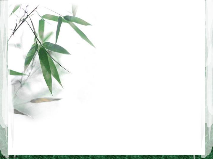 竹子竹叶ppt模板,绿色植物ppt背景图片,翠竹ppt模板下载
