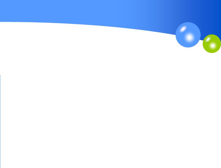 蓝色地球商务ppt模板模板免费下载