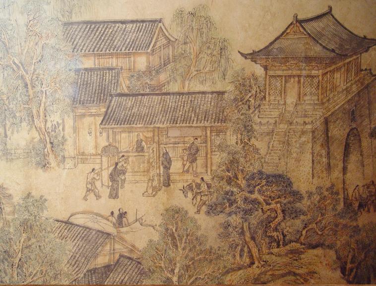 千年古城东阿镇