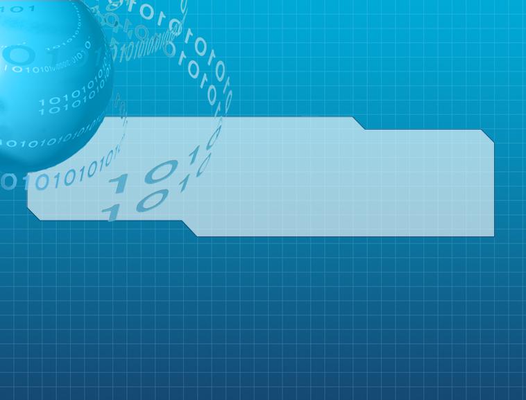 科技信息ppt模板模板免费下载