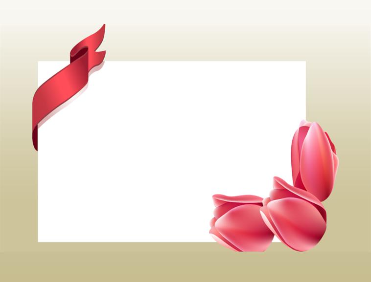 康乃馨贺卡模板模板免费下载