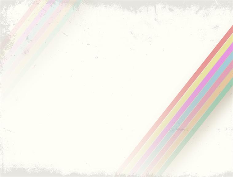 彩虹色彩风格ppt模板