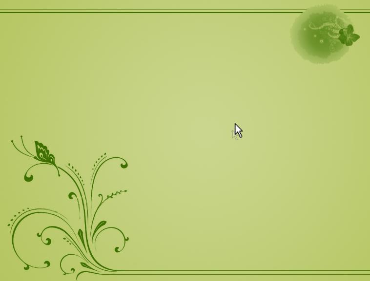 淡绿色花纹模板免费下载