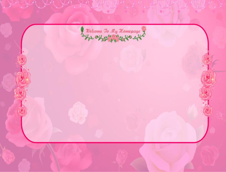 粉色心情(宽屏)ppt模板模板免费下载