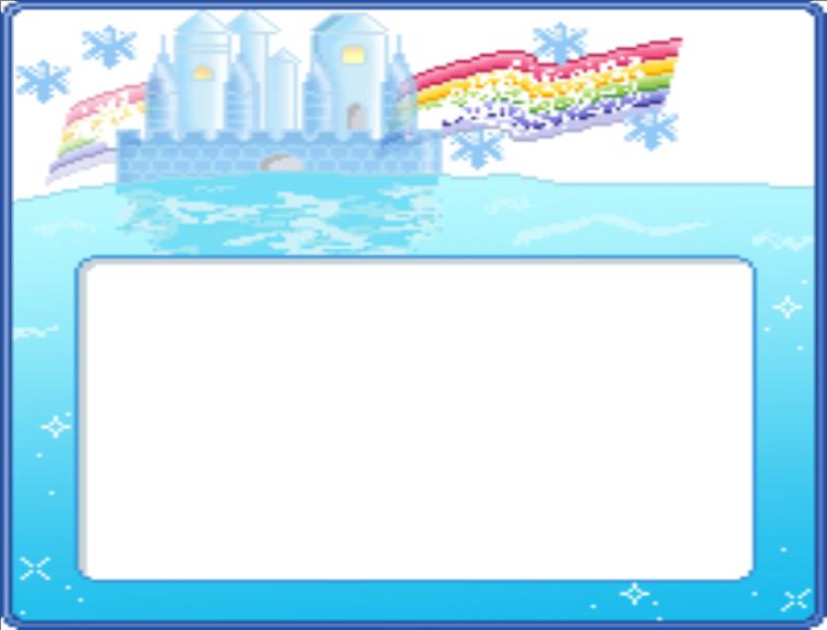 水上的卡通王国ppt模板图片