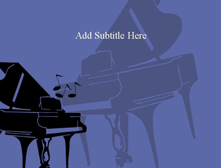 钢琴音乐会背景标语分享展示