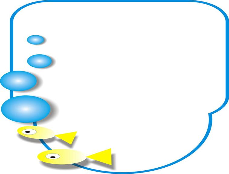 卡通鱼卡通ppt模板模板免费下载