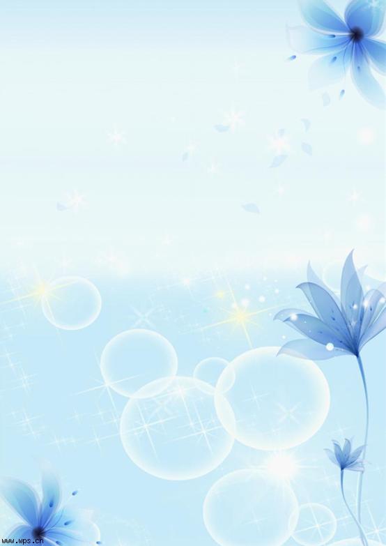一朵花的绽放模板免费下载_12876- wps在线模板图片