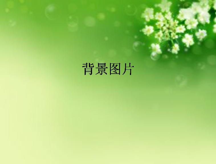 word文档简洁边框素材绿色
