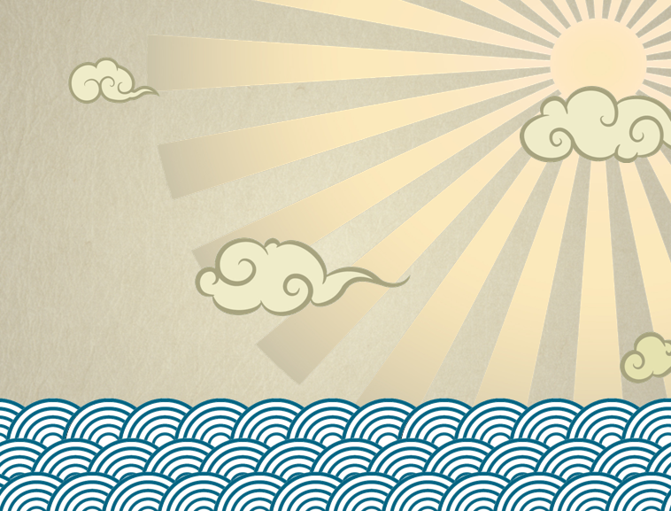 超酷的中国传统龙动画ppt模板模板免费下载