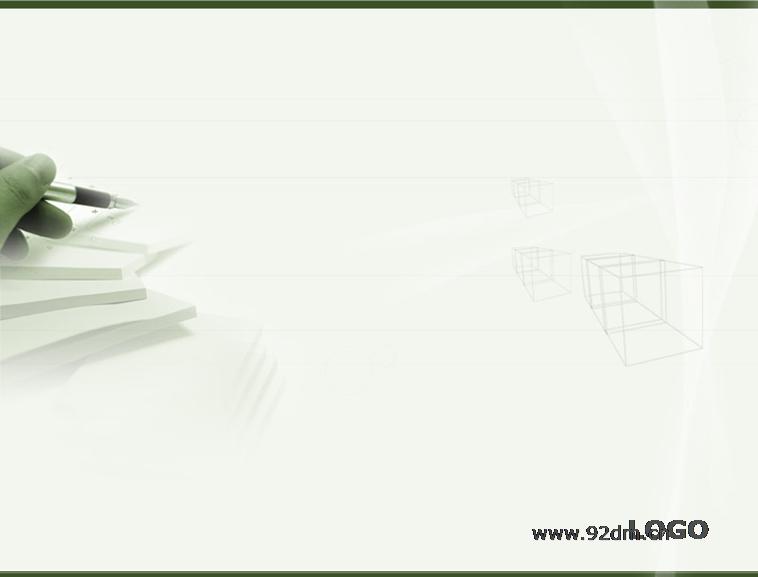 淡雅钢笔笔记本背景教育学习ppt模板模板免费下载