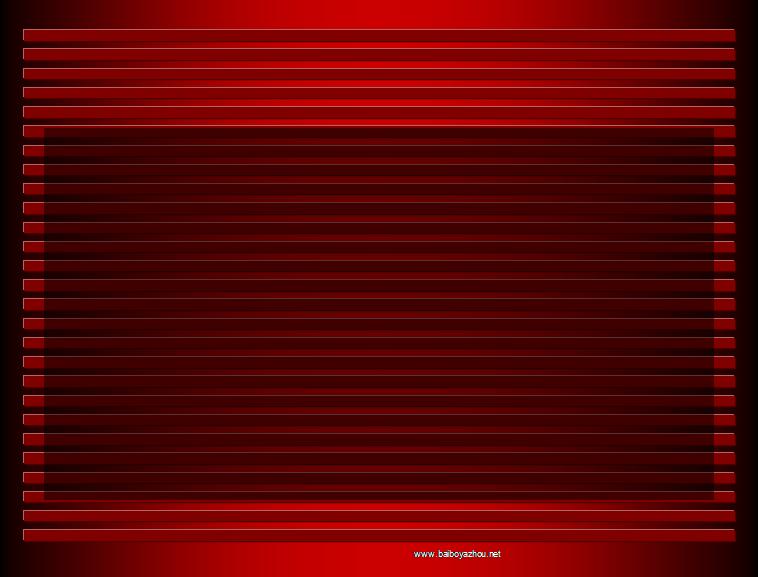 红色线条ppt模板免费下载