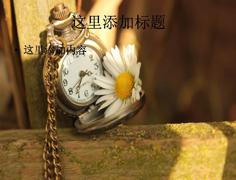 古典怀表中的复古情愫(7)模板免费下载_79883- wps
