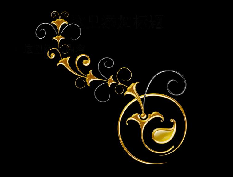 炫彩花纹背景图片(3)