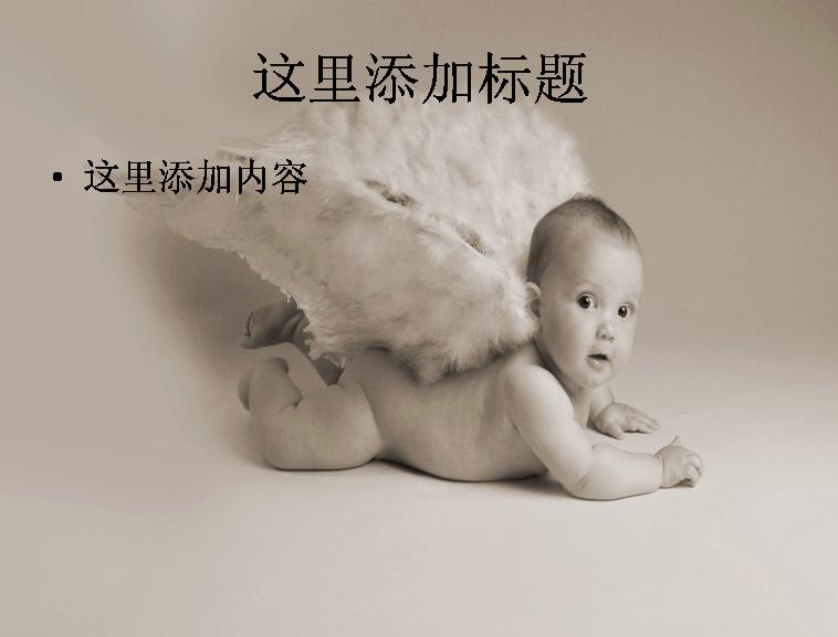 超可爱宝宝卖萌(15)模板免费下载