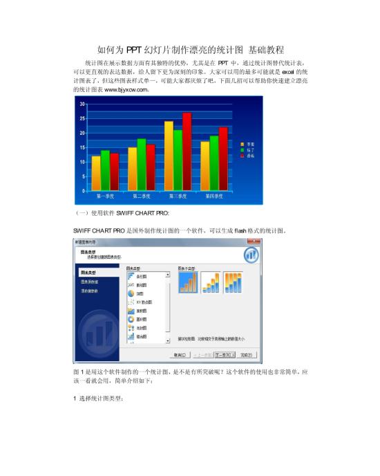 如何为ppt幻灯片制作漂亮的统计图基础教程模板免费