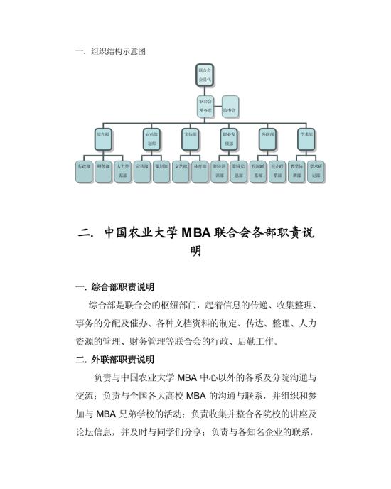 一组织结构示意图模板免费下载