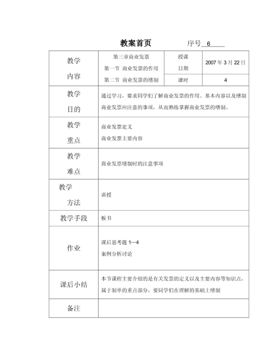 商业发票样本模板免费下载